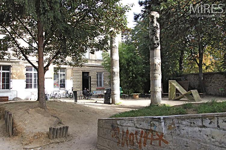 Antique colonnes. C0438