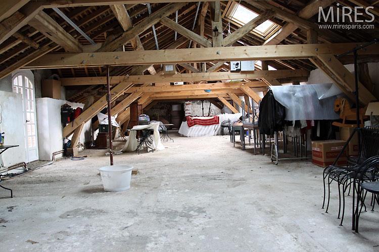 In the attic. C0498
