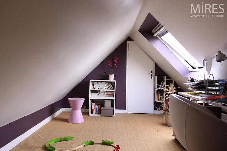 Converted attic. C0414