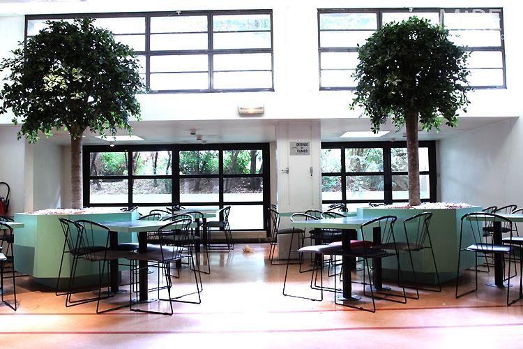 School cafeteria. C0416