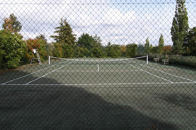Tennis en pleine nature. C0421