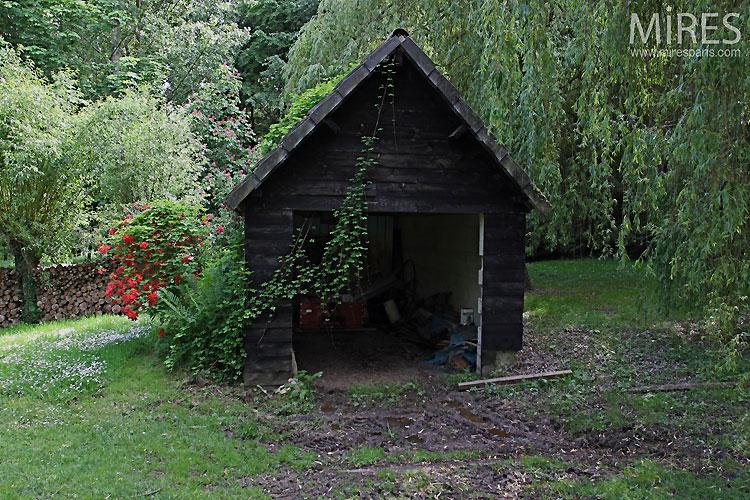 Cabane de jardin. C0534