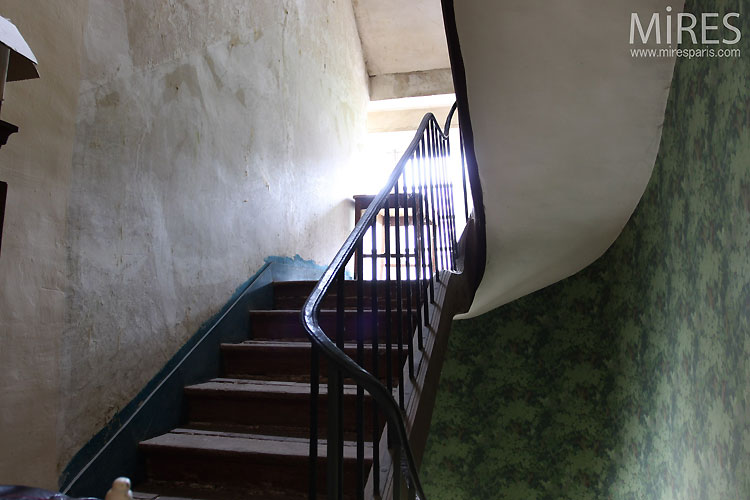 Staircase of yesteryear. C0545