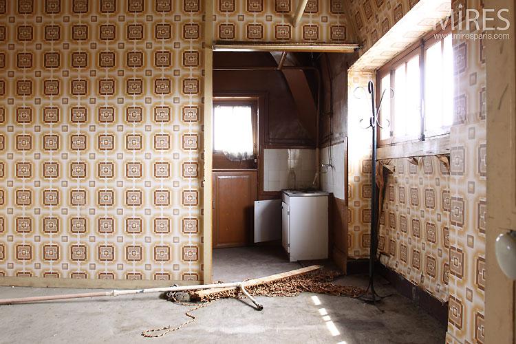 Maison abandonnée. C0546