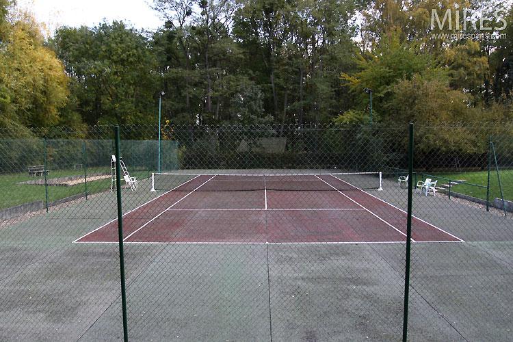 Court de tennis. C0450