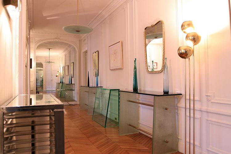 Parisian large corridor. C0479