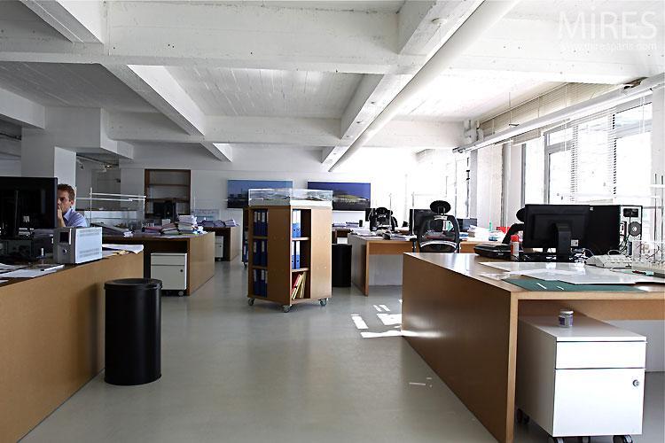 open space de travail c0433 mires paris. Black Bedroom Furniture Sets. Home Design Ideas