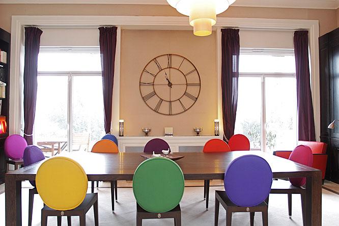 Diner coloré. C0222