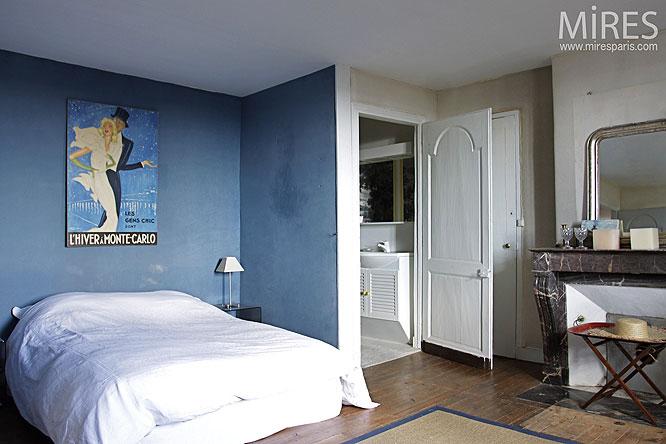 Chambre bleue. C0283 | Mires Paris