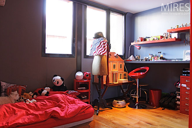 chambre d enfant c0290 mires paris. Black Bedroom Furniture Sets. Home Design Ideas