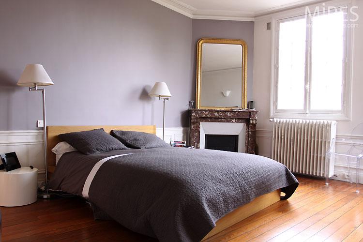 Grey bedroom. C0505