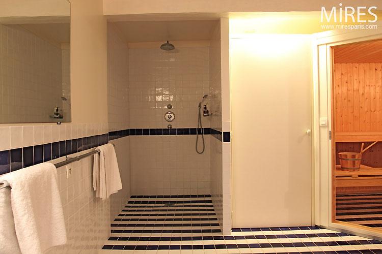salle de bain et sauna c0327 mires paris. Black Bedroom Furniture Sets. Home Design Ideas