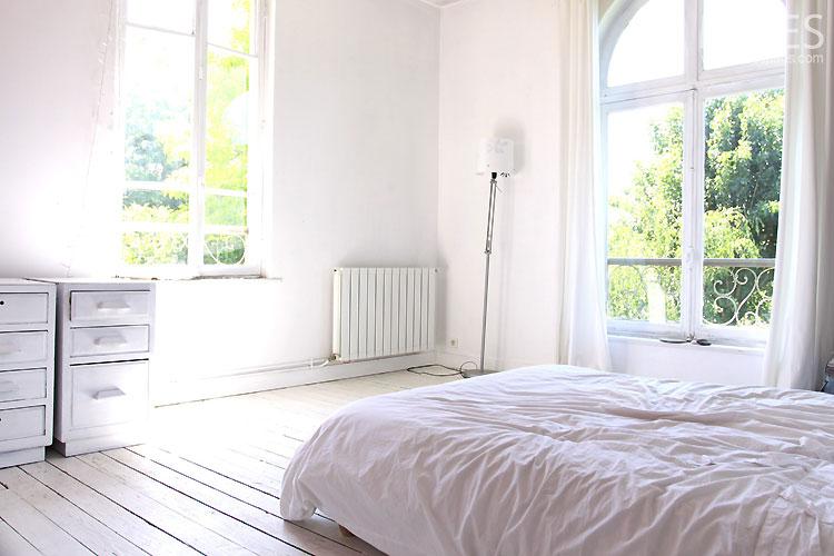 Chambre blanche. C0348   Mires Paris
