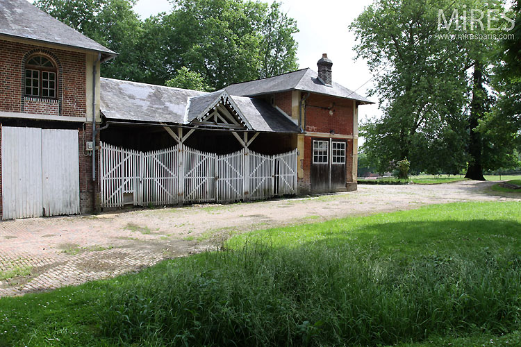 Stables and outbuildings. C0362
