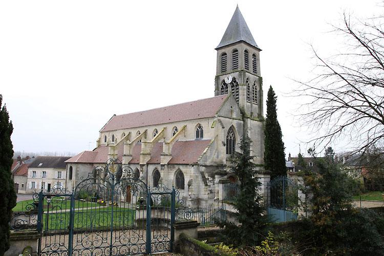 Église et manoir. C0466