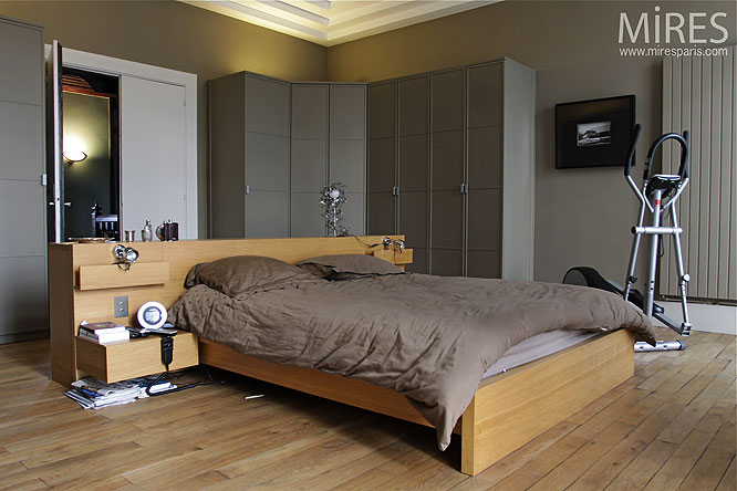 fabulous chambre parentale c with couleur de chambre parentale. Black Bedroom Furniture Sets. Home Design Ideas