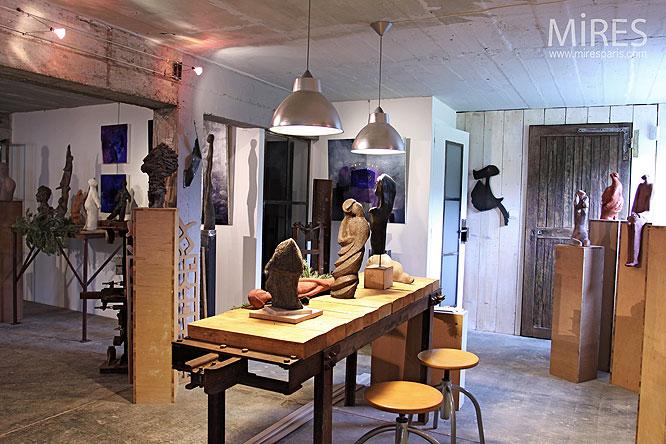 sous sol d artiste c0019 mires paris. Black Bedroom Furniture Sets. Home Design Ideas