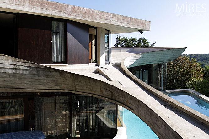 Maison d'architecte. C0189