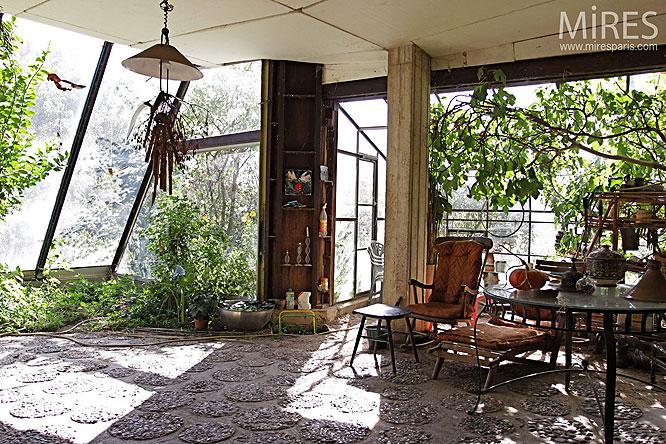 Jardin d hiver c0189 mires paris for Verriere jardin d hiver