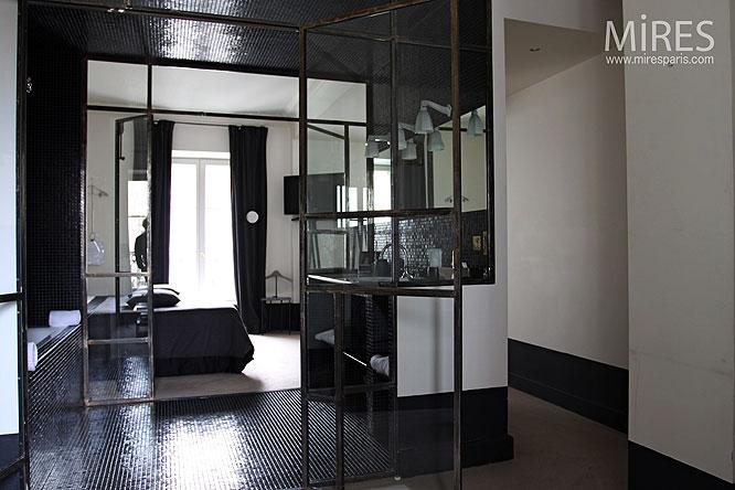 Chambre et salle d\'eau. C0024 | Mires Paris
