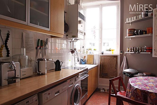 Cuisine familiale c0095 mires paris for Cuisine familiale