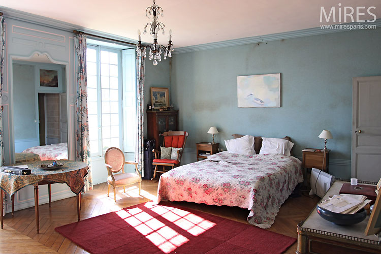 Grande chambre bleue. C0305