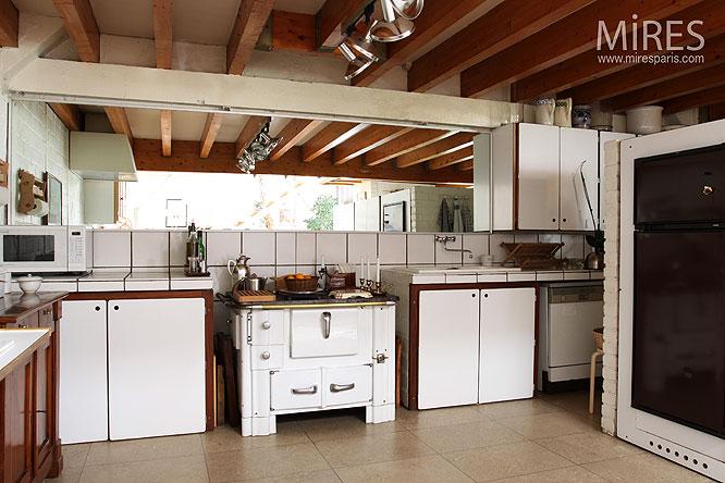 cuisine sous mezzanine c0034 mires paris. Black Bedroom Furniture Sets. Home Design Ideas