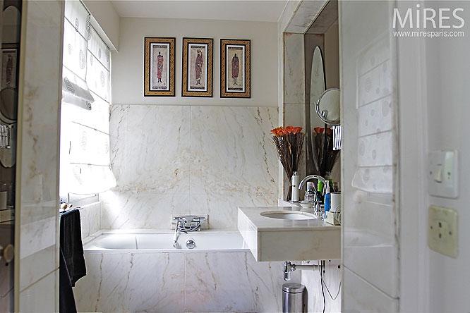 Marbre de bain. C0049