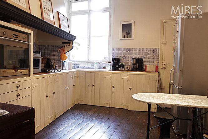 Haussmanien mires paris page 16 - Parquet de cuisine ...