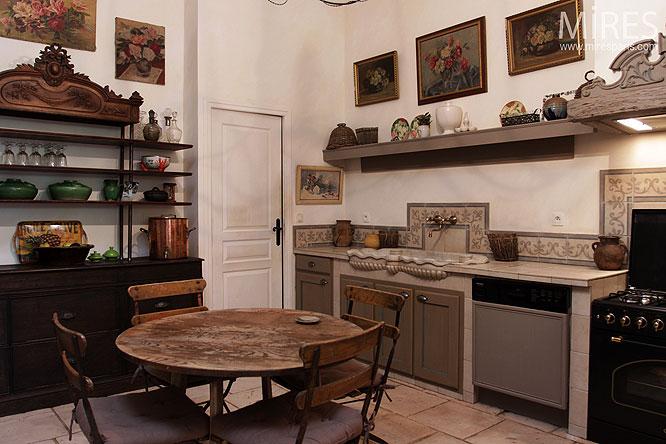 Cuisine Rustique Revisitee C0057 Mires Paris