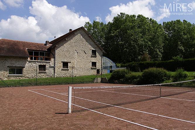 Tennis rural. C0071