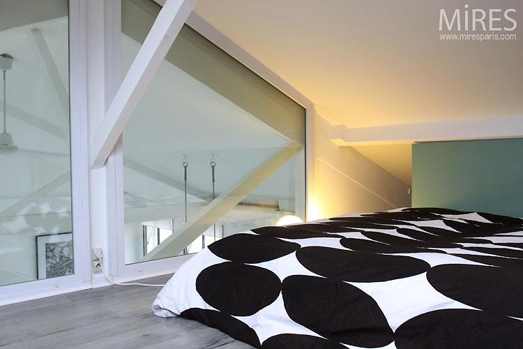 Chambre en mezzanine solutions pour la d coration int rieure de votre maison - Chambre en mezzanine ...