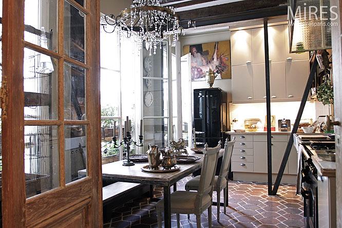 lustre de verre et cuisine d co c0092 mires paris. Black Bedroom Furniture Sets. Home Design Ideas
