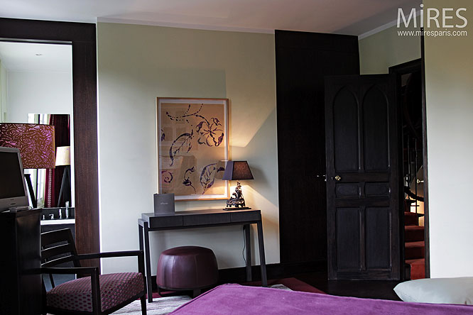 Chambre deco paris brilliant new york york and bureaus on for Chambre a theme liege