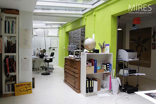 sous sol de travail c0117 mires paris. Black Bedroom Furniture Sets. Home Design Ideas