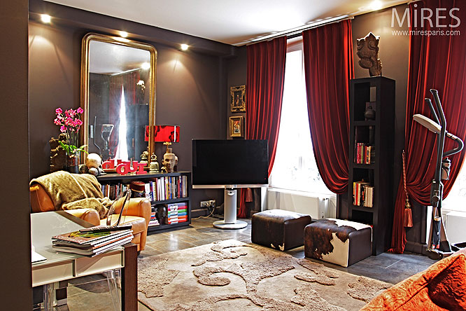 petit salon intimiste c0127 mires paris. Black Bedroom Furniture Sets. Home Design Ideas