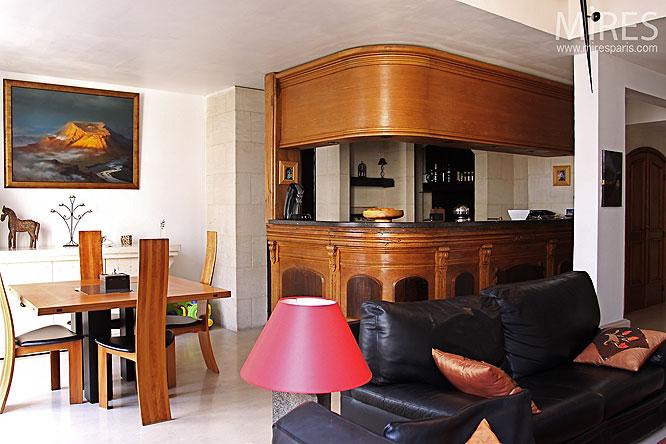 comptoir et boiseries c0116 mires paris. Black Bedroom Furniture Sets. Home Design Ideas