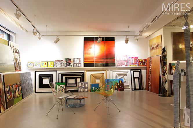 Marché d'art. C0168
