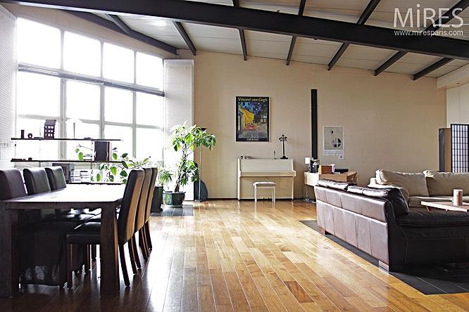 Open space revisit c0174 mires paris for Salon open space