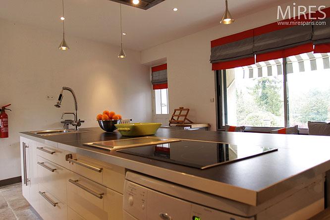Cuisine Moderne Et 238 Lot Central C0166 Mires Paris