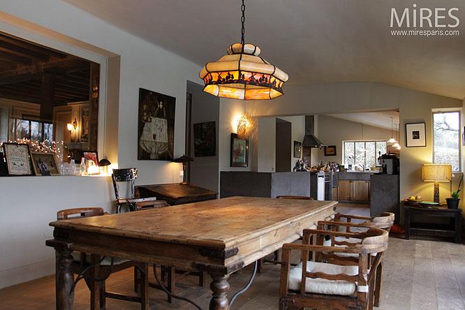 Diner rustique. C0200