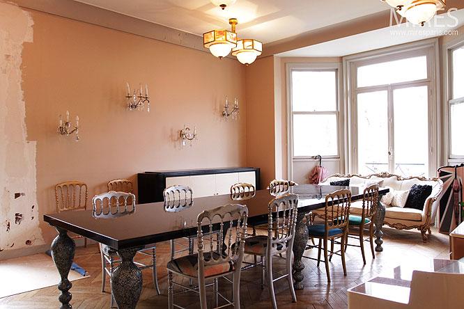 Chambre Deco Garage : Diner et bow window c mires paris