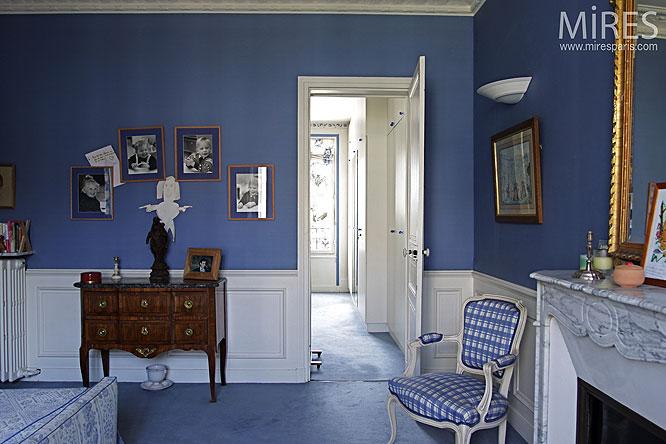 bleu de nuit c0141 mires paris. Black Bedroom Furniture Sets. Home Design Ideas