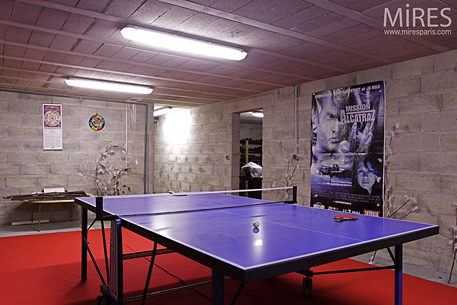 Table de ping pong. C0134