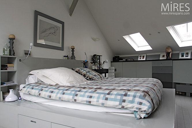 Chambre Sous Comble Moderne – Chaios.com