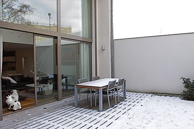Populaire Terrasse et baie vitrée. C0198 | Mires Paris TW46