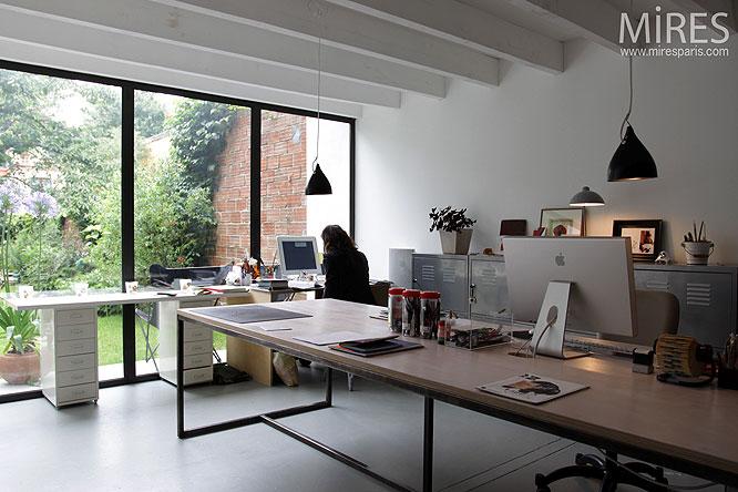 atelier et bureau c0137 mires paris. Black Bedroom Furniture Sets. Home Design Ideas