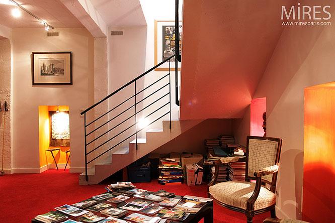 bureau en sous sol c0217 mires paris. Black Bedroom Furniture Sets. Home Design Ideas