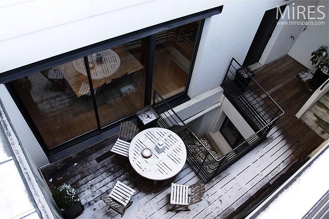 Terrasse et patio. C0217