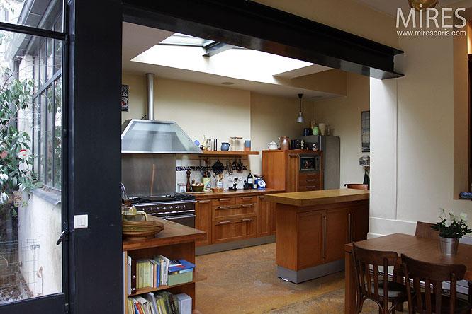 Sejour ouvert sur cuisine photos de conception de maison for Agencement cuisine ouverte sejour